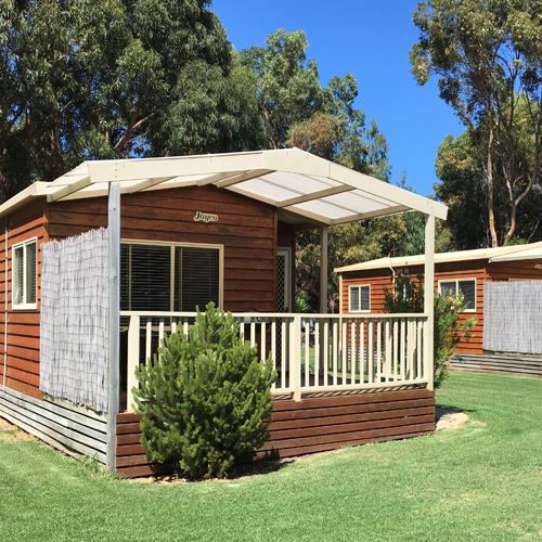 Pelican Waters Holiday Park Cabins