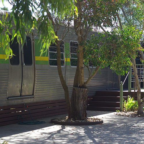 Pelican Waters Holiday Park Train Carriage